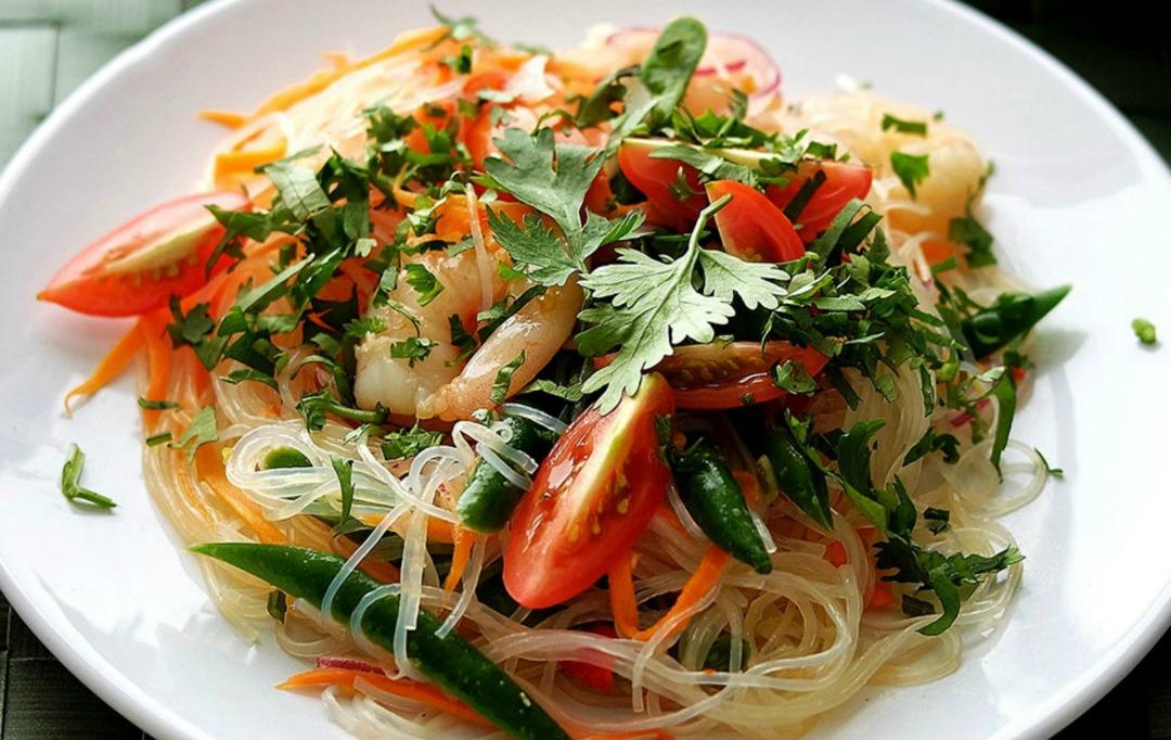 Yam Nun Sen - Thai Noodle Salad